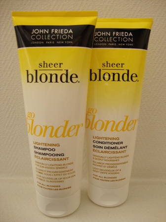 John Frieda Shampoo&Conditioner