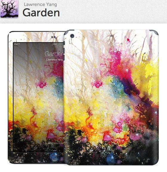Garden Gelaskin for iPad Air