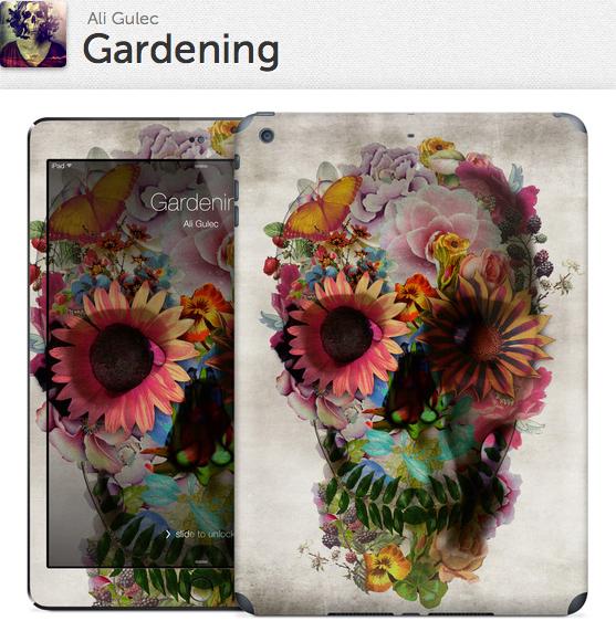 Gardening Gelaskin for iPad Air